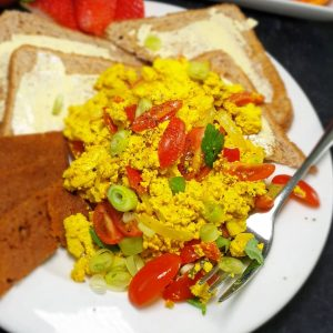 Vegan Scrambled 'Egg'
