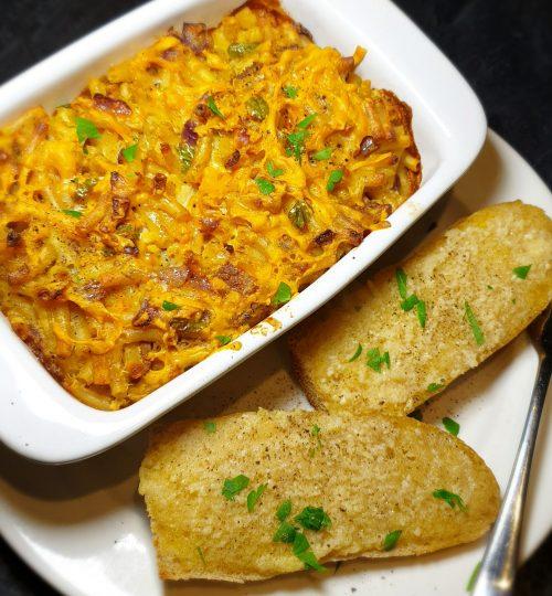 Macaroni & 'Bacon' Cheese