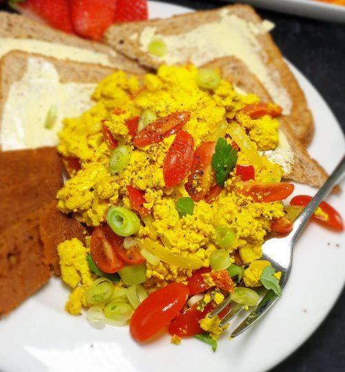 Vegan Scrambled 'Egg'